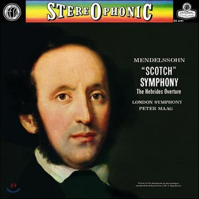 Peter Maag 멘델스존: 교향곡 3번 `스코틀랜드` (Mendelssohn: Symphony Op.56 'Scotch', Hebrides Overture) [2LP]