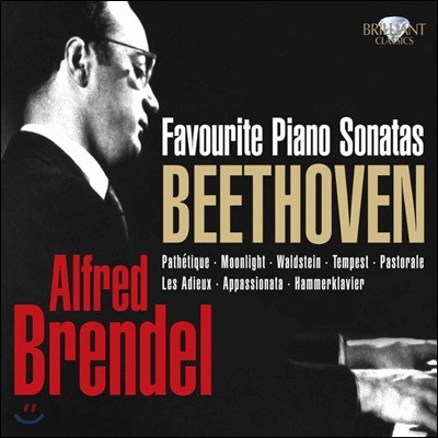 Alfred Brendel 베토벤: 피아노 소나타 - 알프레드 브렌델 (Beethoven: Favourite Piano Sonata)