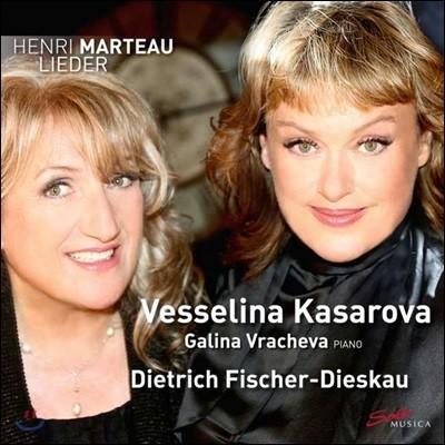 Vesselina Kasarova 앙리 마르토: 갈대의 노래, 열 개의 노래, 여덟 개의 노래 (Henri Marteau: Lieder)