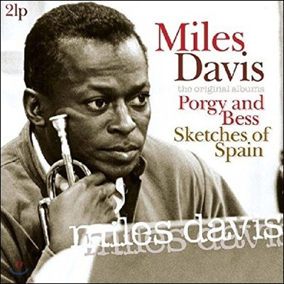 Miles Davis (마일즈 데이비스) - Porgy and Bess / Sketches of Spain [2 LP]