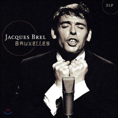 Jacques Brel - Bruxelles 자크 브렐 1961년 파리 라이브 [2 LP]