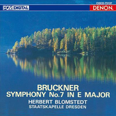 브루크너 : 교향곡 7번 (Bruckner : Symphony No.7 In E Major) (UHQCD)(일본반) - Herbert Blomstedt