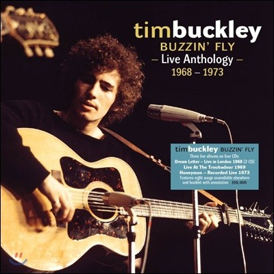 Tim Buckley (팀 버클리) - Buzzin' Fly: Live Anthology 1968-1973 (Deluxe Edition)
