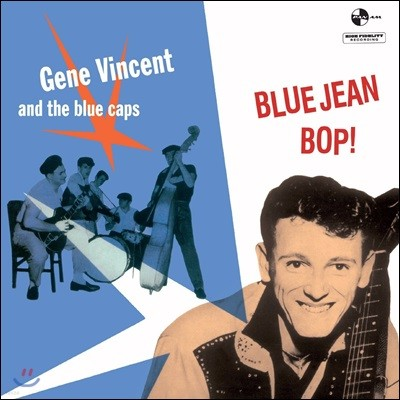 Gene Vincent & His Blue Caps (진 빈센트) - Bluejean Bop [LP]