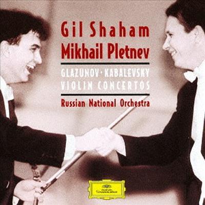 글라주노프, 카바레프스키: 바이올린 협주곡 (Glazunov, Kabalevsky: Violin Concertos) (SHM-CD)(일본반) - Gil Shaham