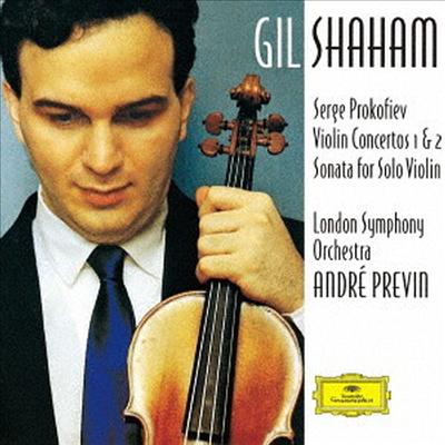 프로코피에프: 바이올린 협주곡 1, 2번 (Prokofiev: Violin Concertos Nos.1 & 2) (SHM-CD)(일본반) - Gil Shaham