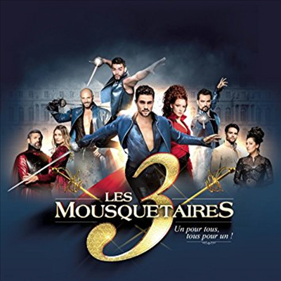 O.C.R. - Le Spectacle - les 3 Mousquetaires (삼총사) (CD+PAL 2DVD)