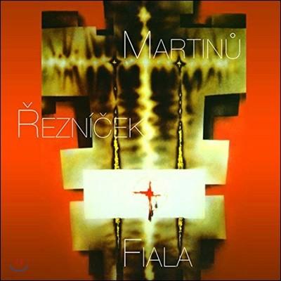 Czech Philharmonic Choir of Brno 마르티누: 세 가지 빛의 나무, 성 요한 찬가 / 레즈니체크: 디에스 이레 등 (Martinu / Reznicek / Petr Fiala: Sacred Works)