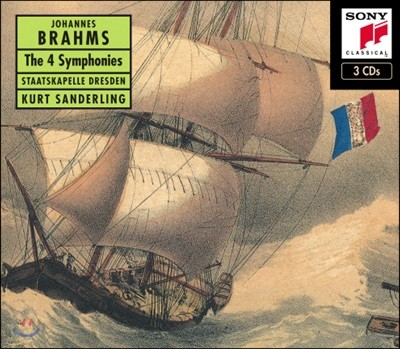 Kurt Sanderling 브람스: 교향곡 1-4번 전집 (Brahms: The 4 Symphonies)