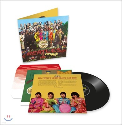 The Beatles (비틀즈) - Sgt. Pepper's Lonely Hearts Club Band [LP]