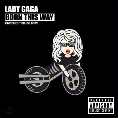 Lady Gaga - Born This Way (Limited USB Edition)