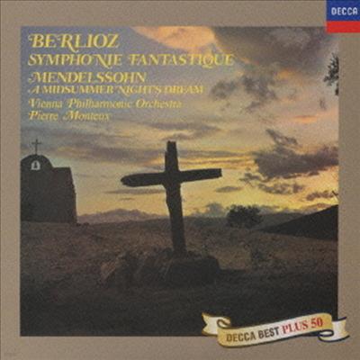 베를리오즈: 환상 교향곡, 멘델스존: 한 여름 밤의 꿈 (Berlioz: Symphonie Fantastique, Mendelssohn: A Midsummer's Night Dream) (Ltd. Ed)(일본반) - Pierre Monteux