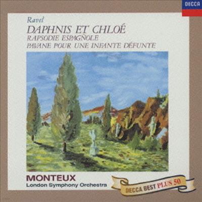 라벨: 다프니스와 클로에, 스페인 광시곡 (Ravel: Daphnis Et Chloe, Rapsodie espagnole) (Ltd. Ed)(일본반) - Pierre Monteux