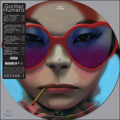 Gorillaz (고릴라즈) - Humanz [픽쳐디스크 2 LP]