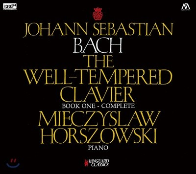 Mieczyslaw Horszowski 바흐: 평균율 클라이버 곡집 1권 (Bach: The Well-Tempered Clavier Book 1) [XRCD]