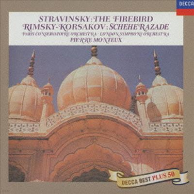 스트라빈스키: 불새, 림스키-코르사코프: 세헤라자데 (Stravinsky: Firebird, Rimsky-Korsakov: Scheherazade) (Ltd. Ed)(일본반) - Pierre Monteux