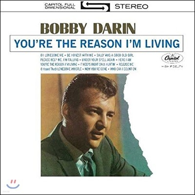 Bobby Darin (바비 다린) - You're The Reason I'm Living [LP]