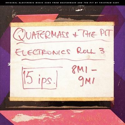 Tristram Cary - Quatermass & The Pit (쿼터매스 앤 더 핏) (Electronic Cues) (Soundtrack)(Ltd. Ed)(10' Vinyl LP)