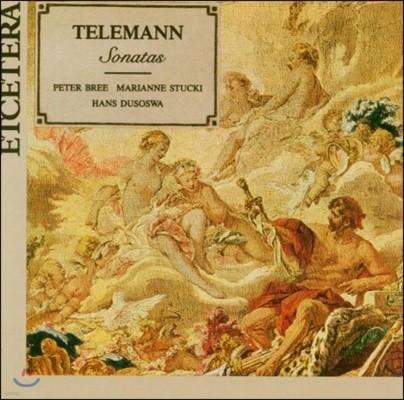 Peter Bree / Marianne 텔레만: 소나타집 (Telemann: Sonatas)