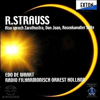 Edo de Waart R. 슈트라우스: 차라투스트라는 이렇게 말했다 외 - 에도 데 바르트 (R. Strauss: Also Sprach Zarathustra, Don Juan, Rosenkavalier Suite)