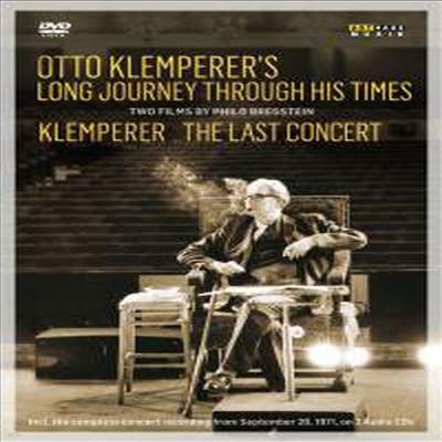 오토 클렘페러의 발자국과 마지막 마침표 - 다큐멘터리와 마지막 콘서트 (Otto Klemperer's Long Journey Through His Times - The Last Concert) (한글자막)(2DVD + 2CD) (2016)(DVD) - Otto Klemperer