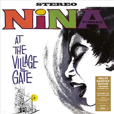 Nina Simone - At The Village Gate (Gatefold Cover)(LP)