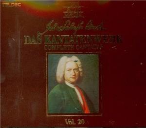 Nikolaus Harnoncourt, Gustav Leonhardt / Bach : Das Kantatenwerk Vol.20 (2CD/수입/2292425762)
