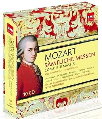 Peter Neumann 모차르트: 미사 전곡집 (Mozart: Complete Masses)