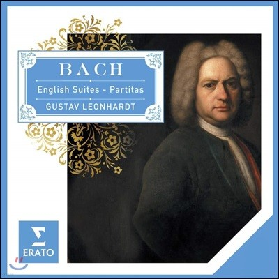 Gustav Leonhardt 바흐: 영국 모음곡, 파르티타 - 구스타프 레온하르트 (Bacg: English Suites & Partitas)