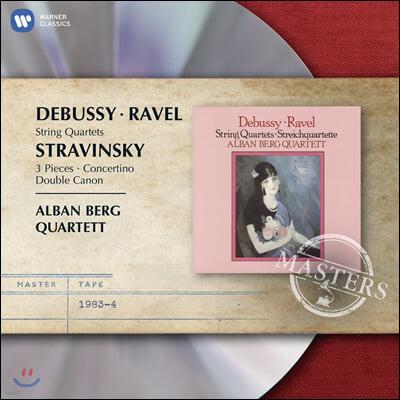 Alban Berg Quartett 드뷔시 / 라벨: 현악 사중주 (Debussy / Ravel: String Quartett)