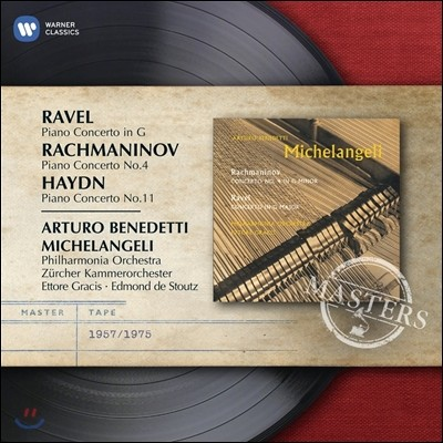 Arturo Benedetti Michelangeli 라흐마니노프 / 라벨 / 하이든: 피아노 협주곡집 (Haydn / Rachmaninov / Ravel: Piano Concertos) 아르투르 미켈란젤리