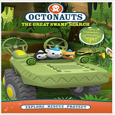 Octonauts: The Great Swamp Search (옥터넛)(지역코드1)(한글무자막)(DVD)