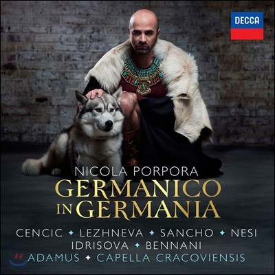 Max Emanuel Cencic 니콜라 포르포라: 게르마니아의 게르마니쿠스 (Nicola Porpora: Germanico in Germania)