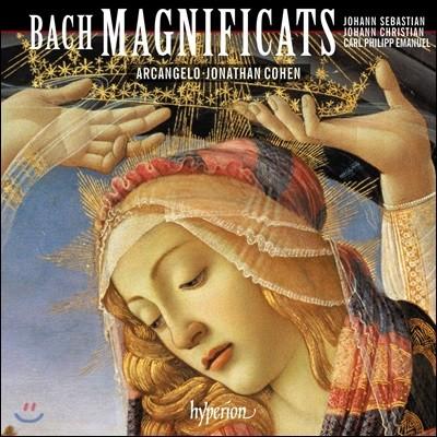 Arcangelo / Jonathan Cohen 바흐 패밀리에 의한 마니피카트집 (J.S. Bach / J.C. Bach / C.P.E. Bach: Magnificats)