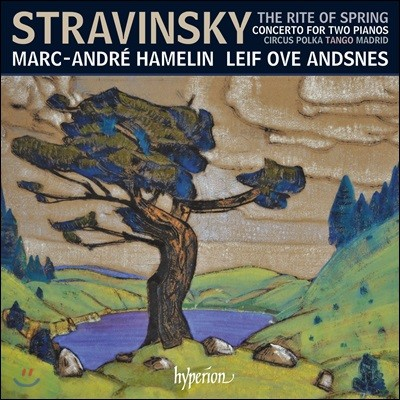 Marc-Andre Hamelin / Leif Ove Andsnes 스트라빈스키: 봄의 제전 - 2대의 피아노를 위한 작품집 (Stravinsky: The Rite Of Spring, Concerto For Two Pianos)