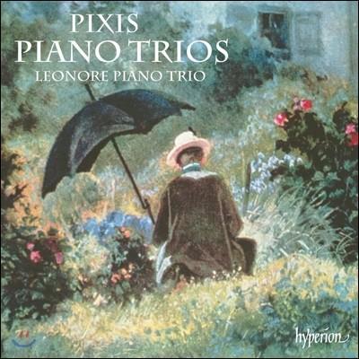 Leonore Piano Trio 픽시스: 피아노 삼중주 1번, 3번, 트리오 콘체르탄트 1번 (Johann Peter Pixis: Piano Trios)