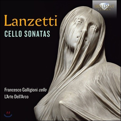 Francesco Galligioni 란체티: 첼로 소나타 작품집 (Salvatore Lanzetti: Cello Sonatas)