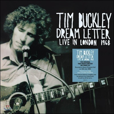 Tim Buckley (팀 버클리) - Dream Letter: Live In London 1968 [3 LP Deluxe Edition]