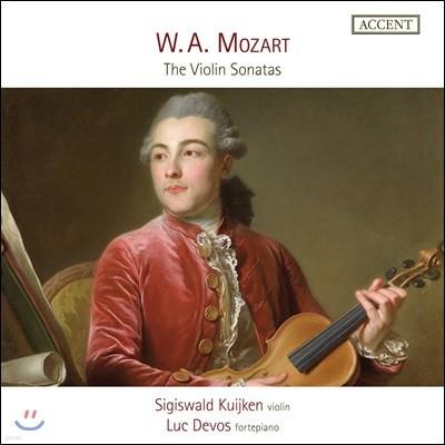 Sigiswald Kuijken 모차르트: 바이올린 소나타 작품집 (Mozart: The Violin Sonatas)