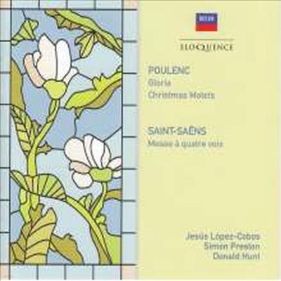 풀랑, 생상: 합창 음악 (Poulenc, Saint-Saens: Choral Works) - Jesus Lopez-Cobos