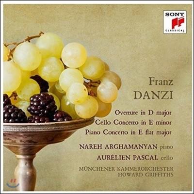 Howard Griffiths 프란츠 단치: 서곡, 첼로 협주곡, 피아노 협주곡 (Franz Danzi: Overture, Cello & Piano Concertos)