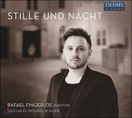 Rafael Fingerlos 슈트라우스 / 슈베르트 / 브람스 / 슈만: 가곡집 (Stille und Nacht)
