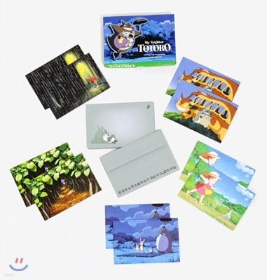 이웃집 토토로 팝업 카드 세트 (봉투 포함) : My Neighbor Totoro : 10 Pop-Up Notecards and Envelopes
