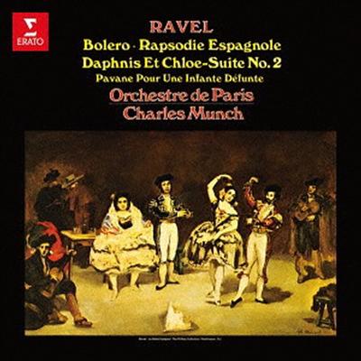 라벨: 관현악 작품집 (Ravel: Bolero, Pavane Pour Une Infante Defunte, Rapsodie Espagnole, Daphnis Et Chloe-suite No.2) (UHQCD)(일본반) - Charles Munch