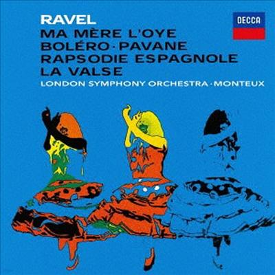 라벨: 관현악 작품집 (Ravel: Orchestral Works) (SHM-CD)(일본반) - Pierre Monteux