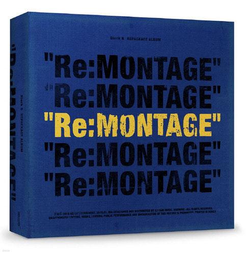 [주로파] 블락비 미니앨범 6집 리패키지 : Re:Montage (미개봉)