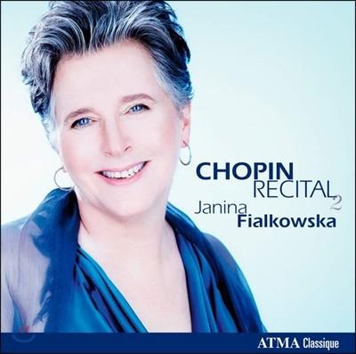 Janina Fialkowska 야니나 피알코프스카 - 쇼팽 베스트 2집 (Chopin Recital Vol. 2)