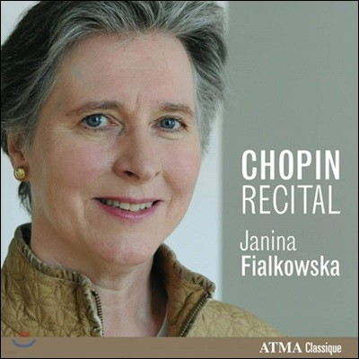 Janina Fialkowska 야니나 피알코프스카 - 쇼팽 베스트 1집 (Chopin Recital Vol. 1)