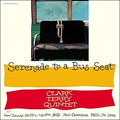 Clark Terry (클락 테리) - Serenade To A Bus Seat [투명 컬러 LP]