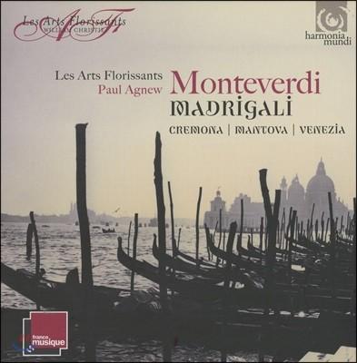 Les Arts Florissants 몬테베르디: 마드리갈 1, 2, 3집 - 크레모나, 만토바, 베네치아 (Monteverdi: Madrigali - Mantova, Cremone & Venezia)